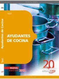 AYUDANTES DE COCINA. TEST