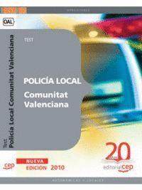 POLICÍA LOCAL DE LA COMUNITAT VALENCIANA. TEST