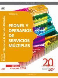 PEONES Y OPERARIOS DE SERVICIOS MÚLTIPLES. TEMARIO