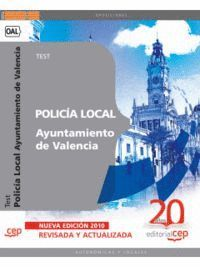 POLICÍA LOCAL DEL AYUNTAMIENTO DE VALENCIA. TEST