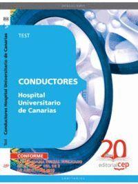 CONDUCTORES HOSPITAL UNIVERSITARIO DE CANARIAS. TEST
