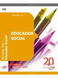 EDUCADOR SOCIAL. TEMARIO VOL. I.