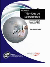 MANUAL TÉCNICAS DE SECRETARIADO. FORMACIÓN PARA EL EMPLEO
