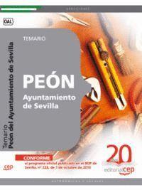 PEÓN DEL AYUNTAMIENTO DE SEVILLA. TEMARIO