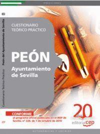 PEÓN DEL AYUNTAMIENTO DE SEVILLA. CUESTIONARIO TEÓRICO PRÁCTICO