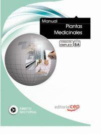 MANUAL PLANTAS MEDICINALES. FORMACIÓN PARA EL EMPLEO