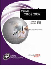 MANUAL OFFICE 2007. FORMACIÓN PARA EL EMPLEO