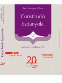 CONSTITUCIÓ ESPANYOLA. COL·LECCIÓ LEGISLATIVA CEP