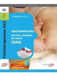 FISIOTERAPEUTAS. SERVICIO ANDALUZ DE SALUD (SAS). TEMARIO VOL. II.