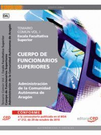 CUERPO DE FUNCIONARIOS SUPERIORES DE LA ADMINISTRACIÓN DE LA COMUNIDAD AUTÓNOMA DE ARAGÓN, ESCALA FA