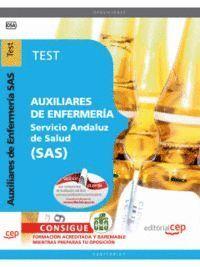 AUXILIARES DE ENFERMERA SERVICIO ANDALUZ DE SALUD SAS. TEST
