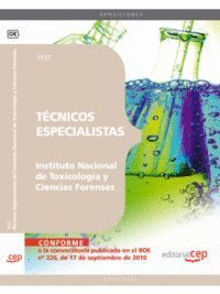 TÉCNICOS ESPECIALISTAS DEL INSTITUTO NACIONAL DE TOXICOLOGÍA Y CIENCIAS FORENSES. TEST