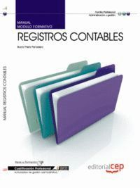 MANUAL REGISTROS CONTABLES. CUALIFICACIONES PROFESIONALES