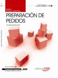 MANUAL PREPARACIÓN DE PEDIDOS. CUALIFICACIONES PROFESIONALES