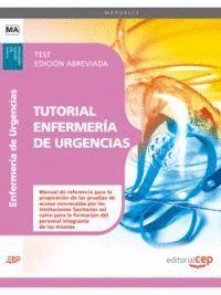TUTORIAL ENFERMERÍA DE URGENCIAS. TEST  EDICIÓN ABREVIADA