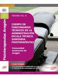 CUERPO DE FUNCIONARIOS TÉCNICOS DE LA ADMINISTRACIÓN DE LA COMUNIDAD AUTÓNOMA DE ARAGÓN, ESCALA TÉCN