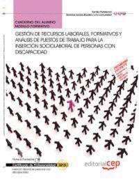 CUADERNO DEL ALUMNO GESTIÓN DE RECURSOS LABORALES, FORMATIVOS Y ANÁLISIS DE PUESTOS DE TRABAJO PARA