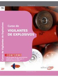 CURSO DE VIGILANTES DE EXPLOSIVOS