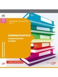 COMPENDIO LEGISLATIVO ADMINISTRATIVOS DE CORPORACIONES LOCALES VOL. III.