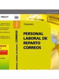 PERSONAL LABORAL DE REPARTO. CORREOS. TEMARIO