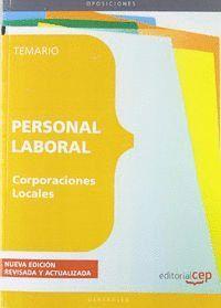 PERSONAL LABORAL DE CORPORACIONES LOCALES. TEMARIO