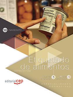 ETIQUETADO DE ALIMENTOS (INAD036PO). ESPECIALIDADES FORMATIVAS