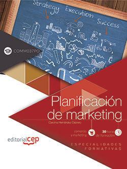 PLANIFICACIÓN DE MARKETING (COMM037PO). ESPECIALIDADES FORMATIVAS