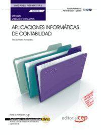 MANUAL APLICACIONES INFORMÁTICAS DE CONTABILIDAD (UF0516/MF0981_2). ACTIVIDADES DE GESTIÓN ADMINISTR