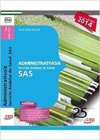 ADMINISTRATIVO/A. SERVICIO ANDALUZ DE SALUD (SAS). TEST ESPECFICOS