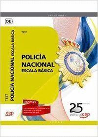 POLICA NACIONAL ESCALA BÁSICA. TEST