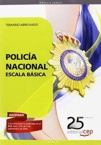 POLICA NACIONAL ESCALA BÁSICA. TEMARIO ABREVIADO TEMARIO ABREVIADO