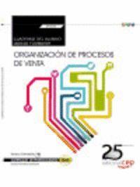 CUADERNO DEL ALUMNO. ORGANIZACIÓN DE PROCESOS DE VENTA (TRANSVERSAL: UF0030). CERTIFICADOS DE PROFESIONALIDAD