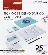 MANUAL. TÉCNICAS DE DISEÑO GRÁFICO CORPORATIVO (UF2400). CERTIFICADOS DE PROFESIONALIDAD. GESTIÓN DE MARKETING Y COMUNICACIÓN (COMM0112)