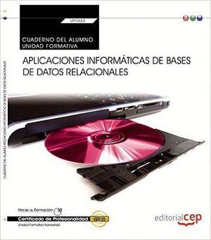 APLICACIONES INFORMATICAS BASES DE DATOS RELACIONALES ALUMN