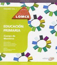 TEMARIO I EDUCACION PRIMARIA. CUERPO DE MAESTROS