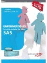 ENFERMEROS /AS TEMARIO ESPECIFICO VOL.III SAS 2015 SERVICIO ANDALUZ DE SALUD