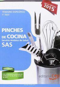 PINCHES DE COCINA TEMARIO ESPECIFICO Y TEST SAS 2015 SERVICIO ANDALUZ DE SALUD
