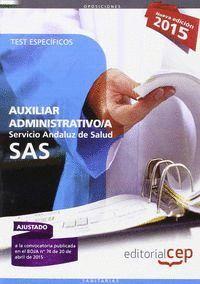 AUXILIAR ADMINISTRATIVO SERVICIO ANDALUZ DE SALUD TEST ESPE
