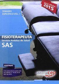 FISIOTERAPEUTA. SERVICIO ANDALUZ DE SALUD (SAS). TEMARIO ESPECÍFICO. VOL.I