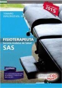 FISIOTERAPEUTA. SERVICIO ANDALUZ DE SALUD (SAS). TEMARIO ESPECÍFICO. VOL.III