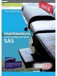 FISIOTERAPEUTA. SERVICIO ANDALUZ DE SALUD (SAS). TEST ESPECÍFICO