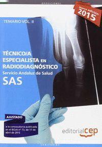 TECNICOS ESPECIALISTAS EN RADIODIAGNOSTICO SAS VOL 2