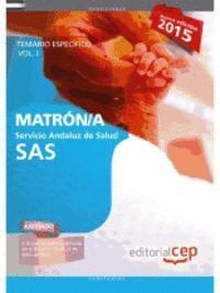 MATRON/A SERVICIO ANDALUZ DE SALUD VOL1