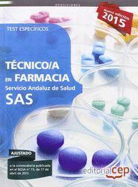 TECNICO EN FARMACIA SAS TEST ESPECIFICOS SERVICIO ANDALUZ DE SALUD