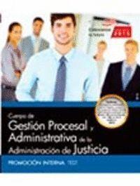CUERPO GESTION PROCESAL ADMINISTRATIVA PROMOCION TEST