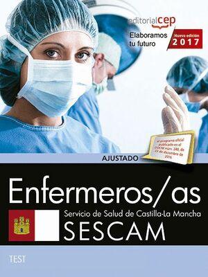 ENFERMEROS/AS. SERVICIO DE SALUD DE CASTILLA-LA MANCHA (SESCAM). TEST ESPECFICOS