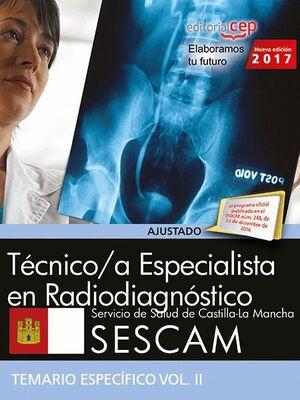 TÉCNICO SUPERIOR SANITARIO DE RADIODIAGNÓSTICO. SERVICIO DE SALUD DE CASTILLA-LA MANCHA (SESCAM). TE