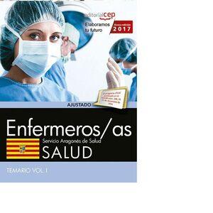 ENFERMERO/A DEL SERVICIO ARAGONÉS DE SALUD. SALUD. TEMARIO. VOL. I