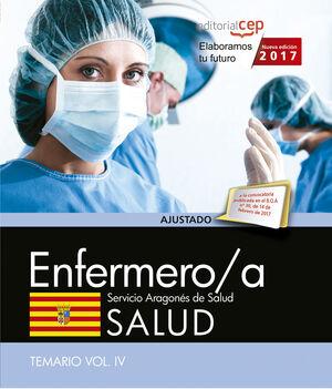 ENFERMERO/A DEL SERVICIO ARAGONÉS DE SALUD. SALUD. TEMARIO. VOL. IV