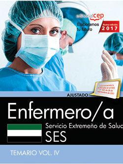 ENFERMERO/A. SERVICIO EXTREMEÑO DE SALUD. TEMARIO VOL. IV